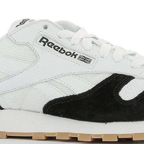 Reebok Sneakers Uomo AR1894 Tessuto Bianco/Nero