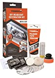 Visbella DIY Vehicle Headlight Restoration Kit, Headlight Restore Cleaner with UV Protection (Manual/Handheld)