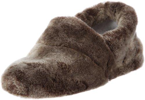 Gera 44/10/45833 - Pantuflas para mujer, color marrón, talla 38 Giesswein