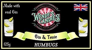 Wendys Candies Candy Sweet Handgefertigt Süßigkeiten Humbugs Der Englischen Spezialität Klassische Süßwaren Revisited In Diesem Gin Tonic