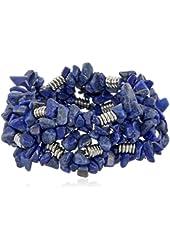 "Kenneth Cole New York ""Pop Art"" Semiprecious Chip Bead Stretch Bracelet"