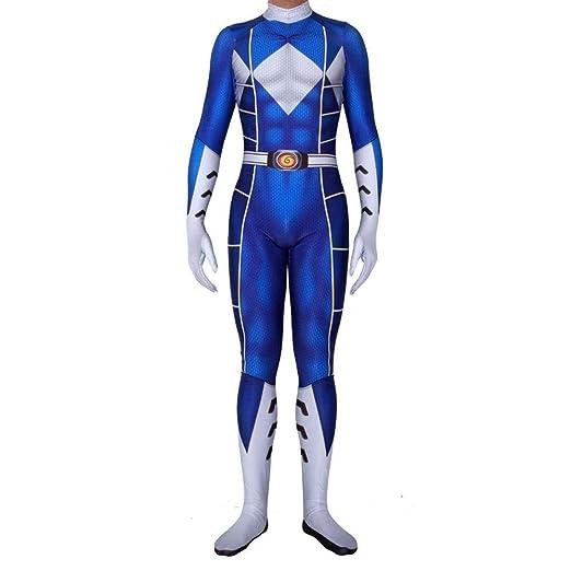 WEDSGTV Power Rangers Disfraz De Cosplay Halloween Navidad ...