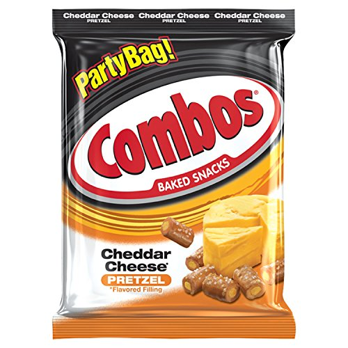 Combos Cheddar Cheese Pretzel Baked Snacks 15-Ounce (Combos Pizza)