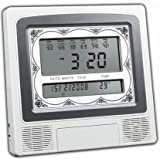 Precision Works Complete 5 Azan Islamic Clock With Volume Control And Azan Times Displayed 4012