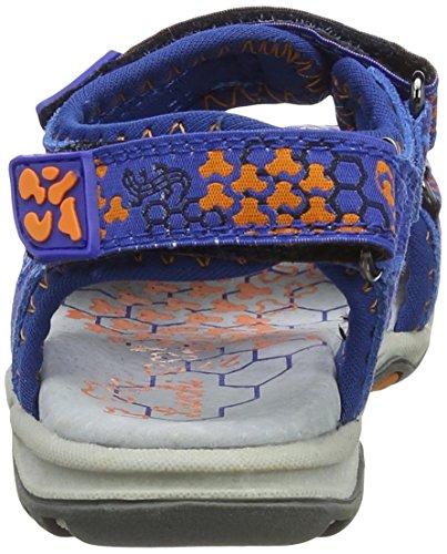 Lurchi Brian - De Plataforma Unisex adulto Blau (Royal Orange)