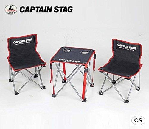 CAPTAIN STAG ジュール コンパクトテーブルチェアセット UC-1702 スポーツアウトドア アウトドアスポーツ ab1-1008974-ah [簡素パッケージ品] B07F1XNQC2