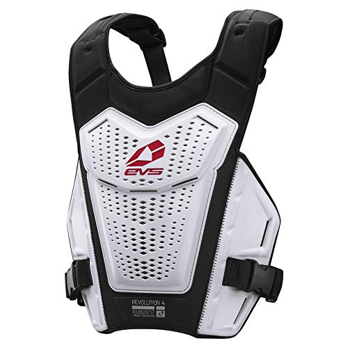 EVS Sports Men's Roost Deflector (REVO 4) (White, Adult ()