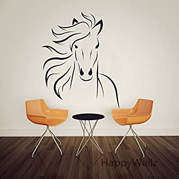 Amazoncom RoomMates RMKSCS Wild Horses Peel And Stick Wall - Wall decals horses
