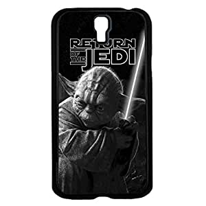 Black and White Retro Yoda Jedi Master Art Hard Snap on Phone Case (Galaxy s4 IV)