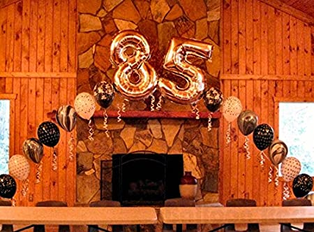 Anniversary Graduation Premium Quality Special Number or Date Durable /& Reusable Birthday Bridal Shower 40 Inch Giant Jumbo Helium Foil Blue Mylar Number 5 Balloons for Party Decorations