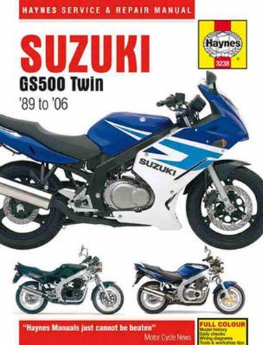 amazon com suzuki gs500 twin haynes repair manual 1989 2006 rh amazon com suzuki gs500e service manual suzuki gs 500 workshop manual