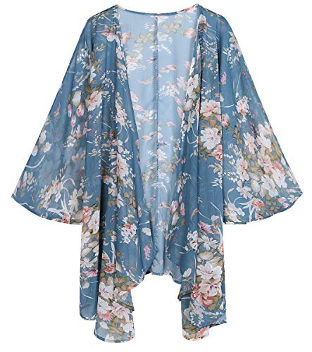 LIGHTENING DEAL! #1 BEST SELLING WOMEN'S SHEER FLORAL CARDIGAN (MORE COLORS AVAILABLE)