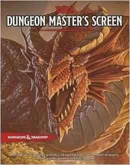 D&D Dungeon Master's Screen (D&D Accessory): Wizards RPG