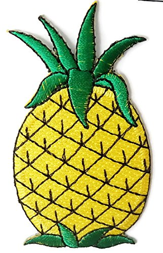 Pineapple DIY Embroidered Sew Iron on - Office Head Gucci Australia