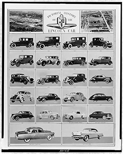 Amazon Com Photo Pictorial History Of The Lincoln Car Ford Motor
