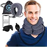 Rockawinners Cervical Neck Traction Device -...