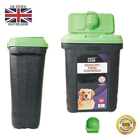 Contenedor de almacenamiento de alimentos secos, para mascotas, perro, gato, animal, pájaro, semillas, caja de almacenamiento.: Amazon.es: Productos para ...