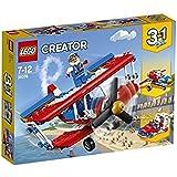 LEGO 乐高  拼插类 玩具  LEGO Creator 创意百变系列 超胆侠特技飞机 31076 7-12岁