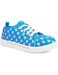 Fashion Canvas Sneakers for Girls & Toddlers with Cute...