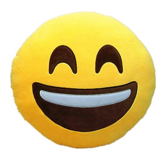 Hangqiao Emoji Emoticon Almohada Riendo cojín Cojines ...