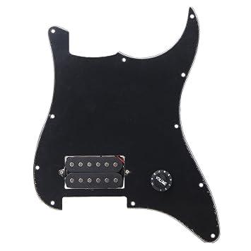 BQLZR negro precableado Golpeador 1 Humbucker para guitarra ...
