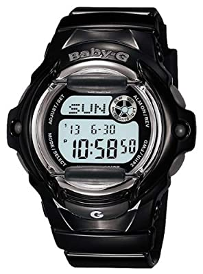 Casio Women's Baby-G Black Whale Digital Sport Watch