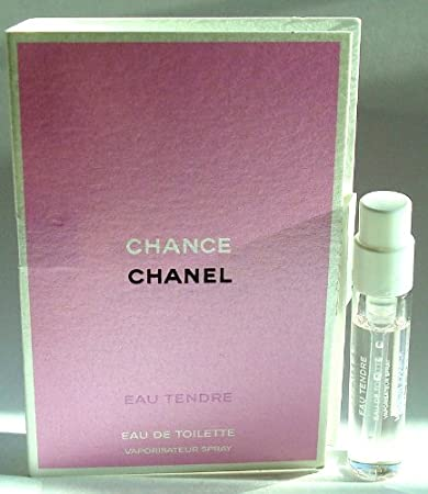 Amazoncom Chanel Chance Eau Tendre 05 Oz 15 Ml Mini Edt Spray