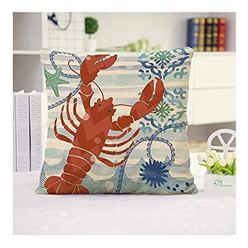 Huacel Ocean Park Theme Throw Pillow Case, Sea