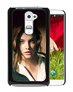 New Custom Designed Cover Case For LG G2 With Hc Barbara Palvin Staring You Natural Sexy Girl Model Phone Case