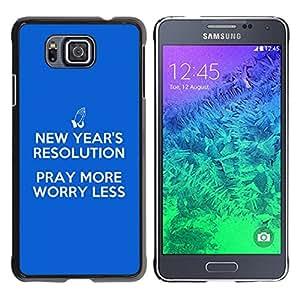 """Dreamcase Versículos De La Biblia Funda Cover Carcasa Rigida Dura Case Para Samsung Galaxy Alpha G850 - """"ray Moree"""
