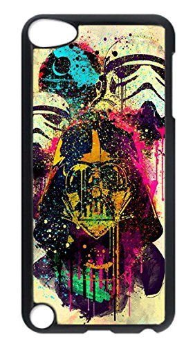 For iPod Touch 5, iPod Touch 5 Case, Hot Sale Hard PC Black Protective Scratch Proof Case Cover for Apple iPod Touch 5 5th Generation - Star Wars Pop Art