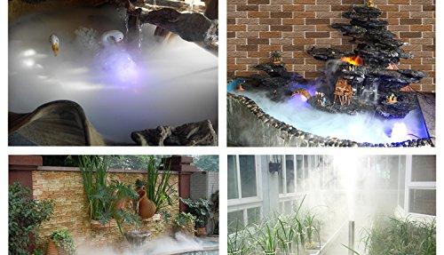 Ultrasonic Mist Maker Fogger 5 Head Humidifier