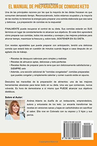 El Manual De Preparación De Comidas Keto (In Spanish/En Espanol): Recetas Rápidas Y Fáciles Para Preparar Comidas Cetogénicas, Bajas En Carbohidratos Para ...