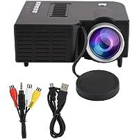 Hongzer Mini projetor portátil, 1920 x 1080 Full HD mini projetor portátil suporta MKV/AVI/MOV / MP4 / TS/ASF/FLV/PMP…