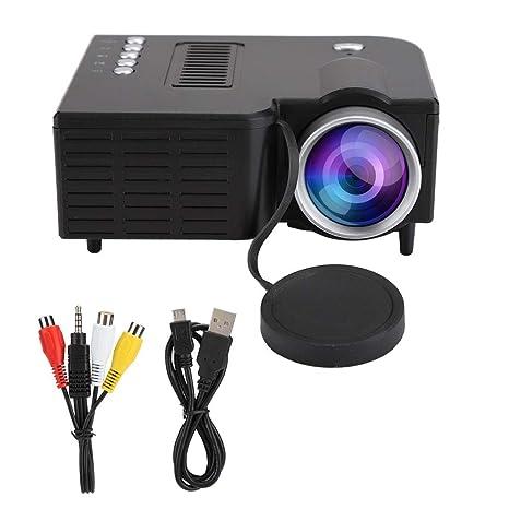 ASHATA Proyector LED de 10 W 1920X1080 Full HD Mini ...