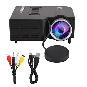 ASHATA Proyector LED de 10 W 1920X1080 Full HD Mini proyector ...