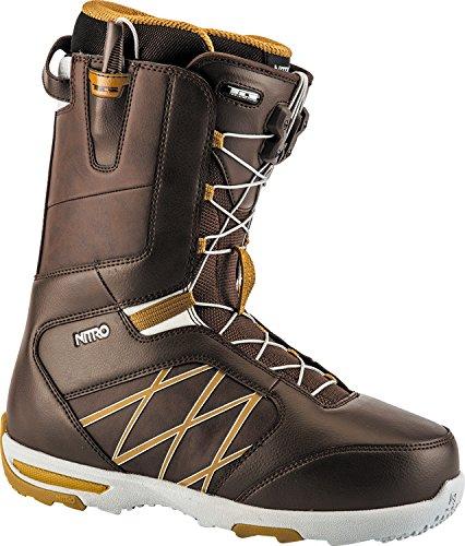 Nitro Anthem TLS Snowboard Boots (Brown, 10)