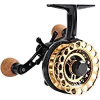 Fiblink Inline Ice Fishing Reel Right/Left Handed Metal...