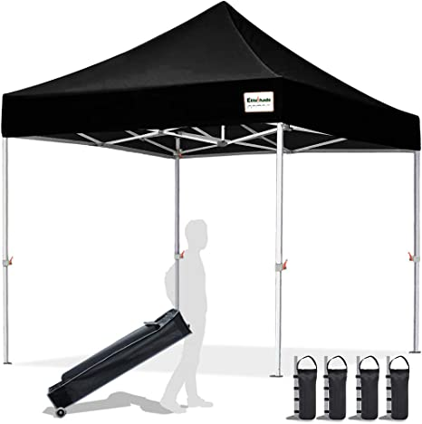 EliteShade 10'x10' Commercial Ez Pop Up Canopy Tent - The Best Pop Up Canopy For Beach