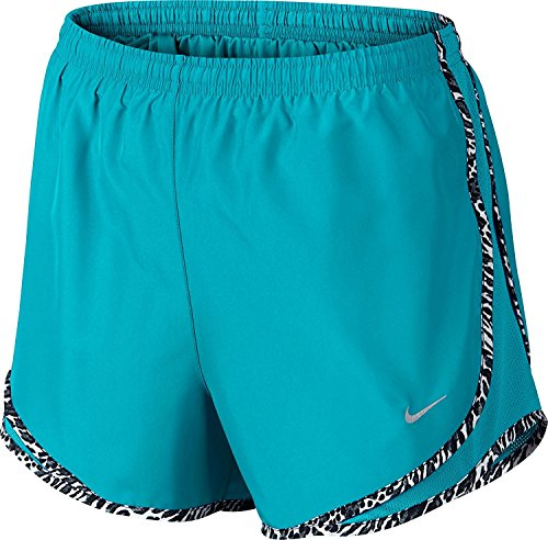 NIKE Womens Tempo Short Omega Blue/Black DezXYs4
