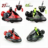 Physport 2Pcs RC Stunt Battle Bumper Cars Remote Control Vehicles with Drivers Toys