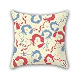 20 X 20 Inches / 50 By 50 Cm Woman Baby Throw Pillow Covers Double Sides Is Fit For Dinning Room Dance Room Deck Chair Kids Bar Pub