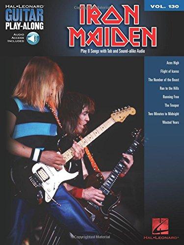 Hal Leonard Iron Maiden - Iron Maiden: Guitar Play-Along Volume 130 (Hal Leonard Guitar Play-Along)