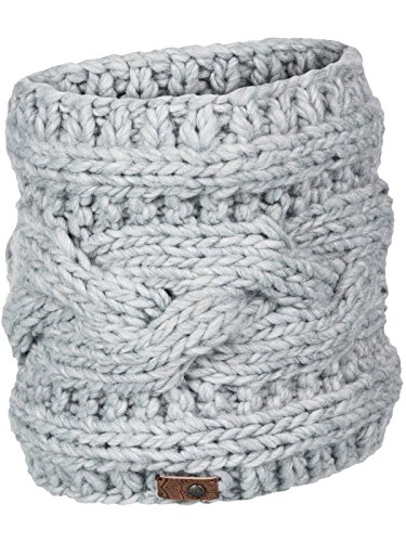 Price comparison product image Roxy Mid Heather Grey Winter Womens Snowboard Neck Warmer (Default , Grey)