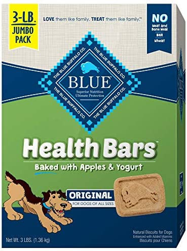 Blue Buffalo Natural Biscuits Packaging product image