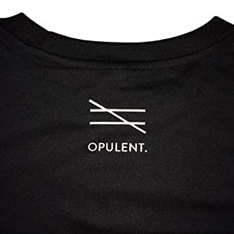 Opulent Black Cotton Round Neck T-Shirt For Unisex