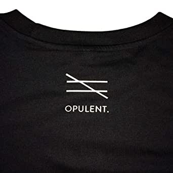 Opulent Black Cotton Round Neck T-Shirt For Unisex