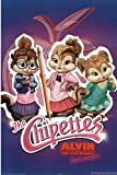 Alvin and the Chipmunks: The Squeakquel Movie (The Chipettes) Poster Print Poster Poster Print, 24x36