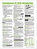 Adobe Dreamweaver CC 2019 Introduction Quick Reference Guide (Cheat Sheet of Instructions, Tips & Shortcuts - Laminated Card)
