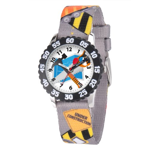 Red Balloon Kids' W001236 Red Balloon Stainless Steel Printed Nylon Strap Watch